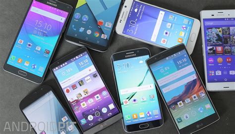 types of android phones smartphone screens explained display types resolutions