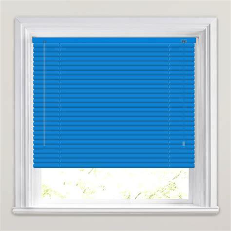 sky blue venetian   measure window blinds