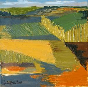 Modern Abstract Expressionist Landscape Paintings by Erin ...