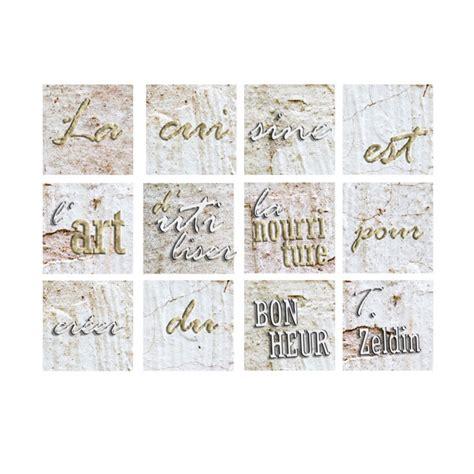 stickers carreaux cuisine stickers carré de carrelage originaux pour cuisine et