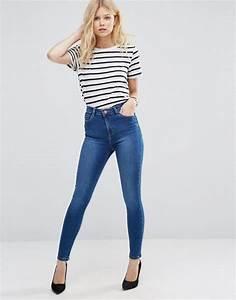 Ladies Jeans Top Design New Style Jeans Pent Women Denim ...