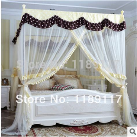 aliexpress com buy hot bed canopy four corner point bug