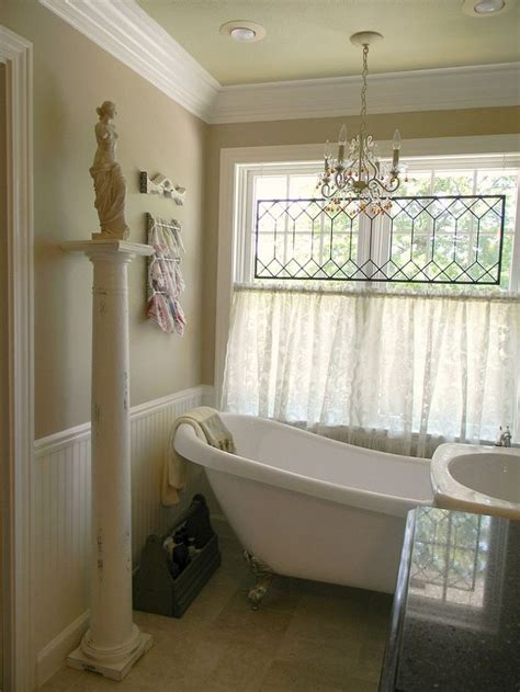 Small Bathroom Window Curtains by 17 Best Images About Bathroom Window Curtains On