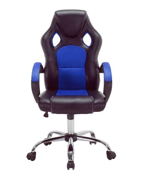 fauteuil bureau racer chaise de bureau racing gaming piétement chrome