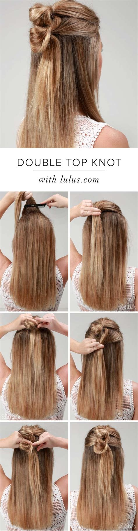 easy step  step hairstyle tutorials