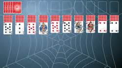 spider solitaire at searchfy com