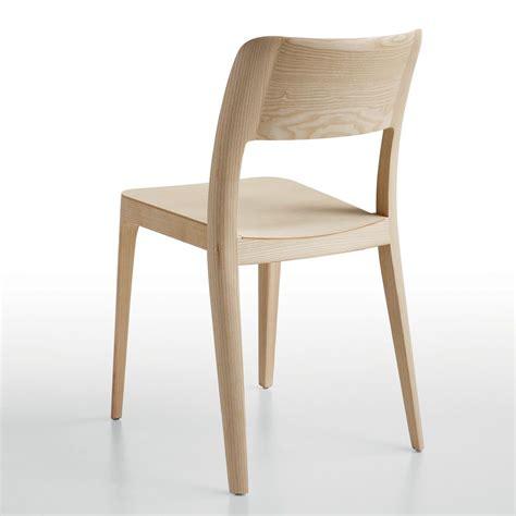 chaise en nenè lg chaise empilable midj en bois en différentes
