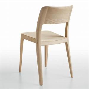 Chaise En Bois : nen lg chaise empilable midj en bois de fr ne sediarreda ~ Melissatoandfro.com Idées de Décoration