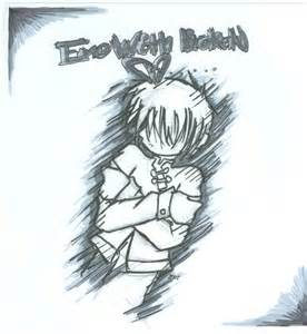 Emo Broken Heart Drawings