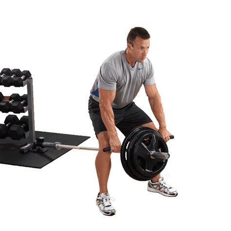 tbr  bar row platform body solid fitness