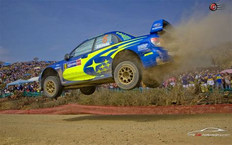 Subaru 555 Impreza Rally Jump Car Wallpaper  Rally And