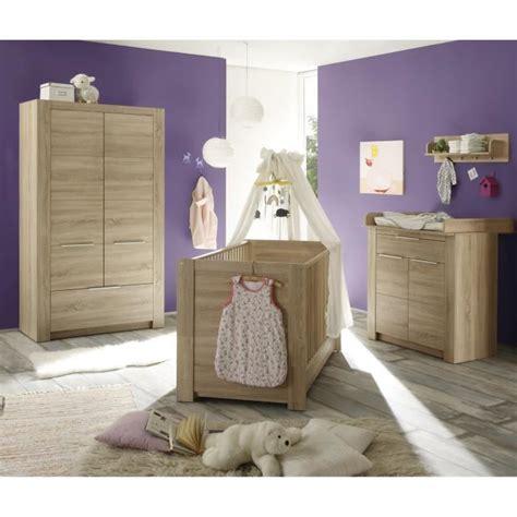 chambre bebe complete cdiscount carlotta chambre bébé complète 3 pièces lit armoire