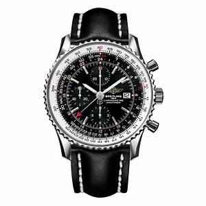 Hands On Replica Breitling Navitimer World Men's Watch ...