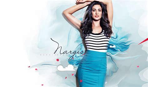 nargis fakhri hottest latest photoshoot  bikini hd