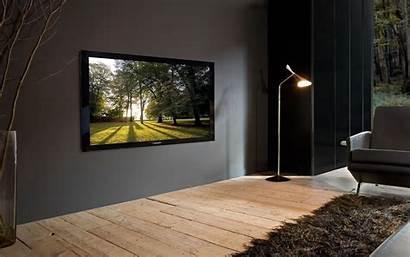Tv Interior Plasma Pioneer Sofa Wallpapers Phone