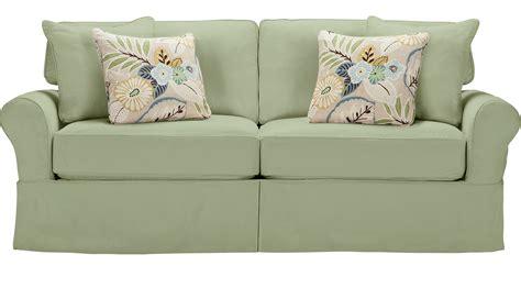 Green Sleeper Sofa by Beachside Green Sleeper Casual Cotton