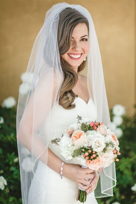 navy and peach diy wedding from anita martin photography