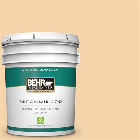 behr premium plus ultra 5 gal ppu6 08 pale honey semi