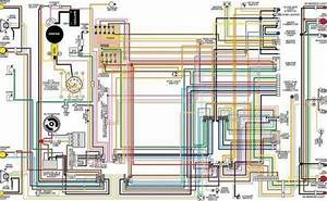 Corvette Color Wiring Diagram  Laminated