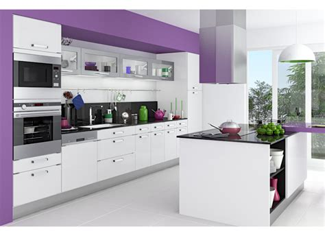 modele de cuisine avec ilot central cuisine silver cuisine