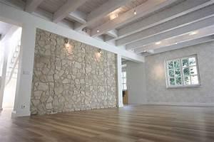 Fliesen Steinoptik Wandverkleidung : holzbalken von rustikal bis modern ~ Bigdaddyawards.com Haus und Dekorationen