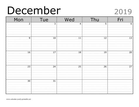 holidays observances december calendar