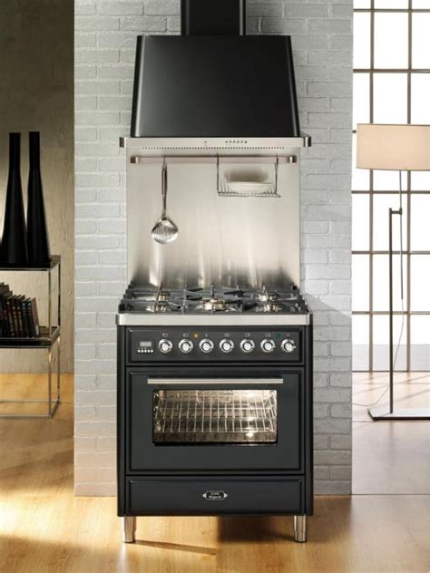 Ilve UMT76DMP 30 Inch Freestanding Dual Fuel Range with 5