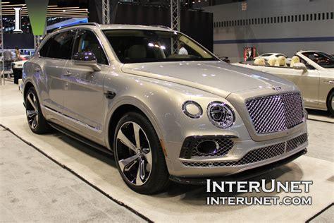 2017 Bentley Bentayga Interunet