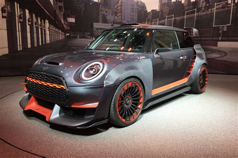 red hot mini john cooper works gp concept revealed
