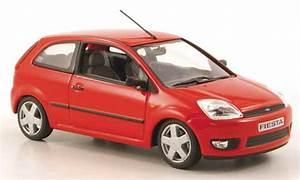 Ford Fiesta 2002 : ford fiesta 2002 red 3 doors minichamps diecast model car ~ Melissatoandfro.com Idées de Décoration