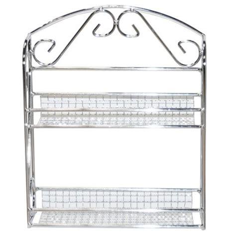 Wire Spice Shelf by Buy Wire Two Tier Metal Kitchen Spice Rack Shelf