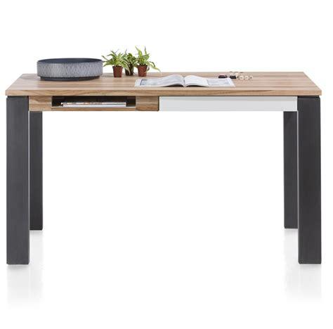 article bureau vista table bureau 140 x 80 cm 1 tiroir 1 niche