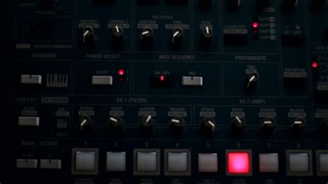 synthesizer korg ms2000r free footage in mp4 avc format