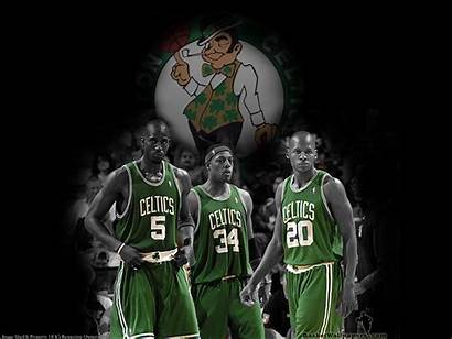 Celtics Garnett Allen Boston Pierce Kevin Wallpapers