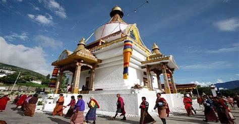 national memorial chorten tourism council bhutan official website