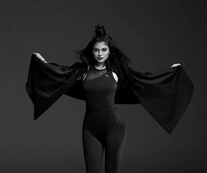 Kylie Jenner Photoshoot Puma Wallpapers Monochrome Pretty