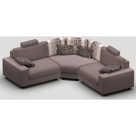 canapé tweed canape d 39 angle modulable grand confort calisto