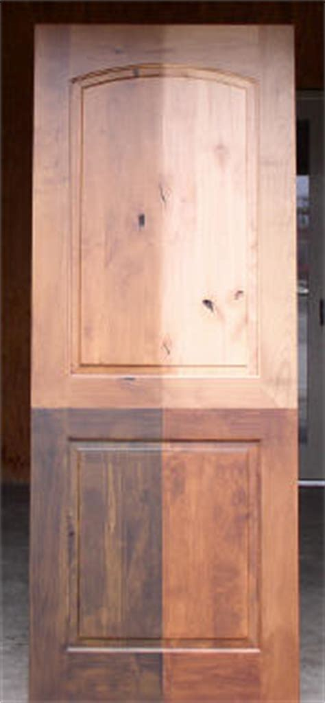 Interior Door Stain Colors by Rustic Knotty Alder Doors At Wholesale Prices