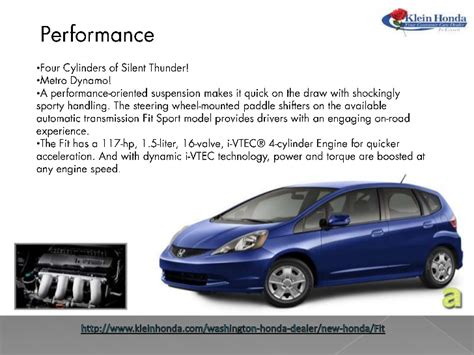 honda fit seattle combination  high performance