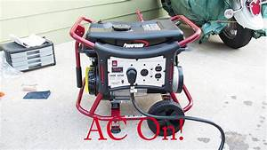 Powermate Wx3400 Rv Ready Gas Generator