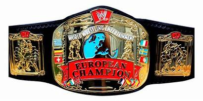 Wwe European Championship Wrestling Wwf Title Belt