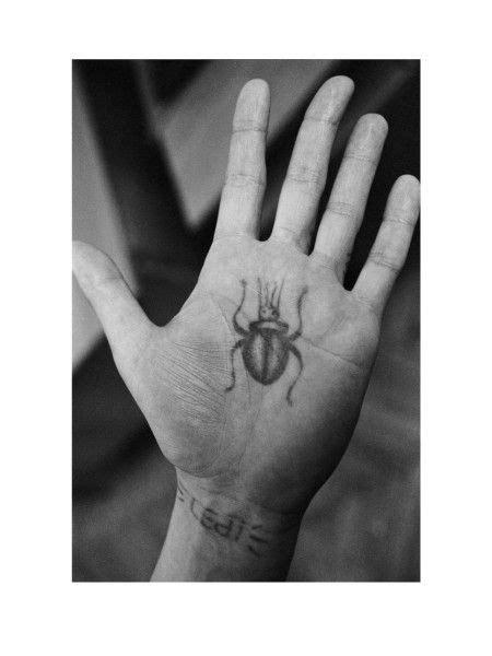 Print No. 4   FUEL   Criminal tattoo, Russian criminal