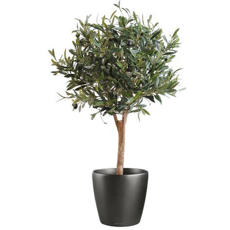 olivier artificiel new arbre boule 90 cm arbres mediterraneens reflets nature lyon