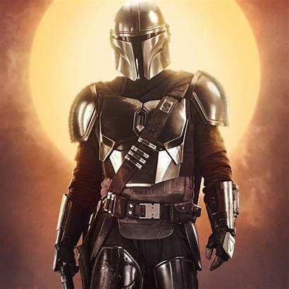 Mandalorian Disney Wars Wallpapers 4k Armor Posters