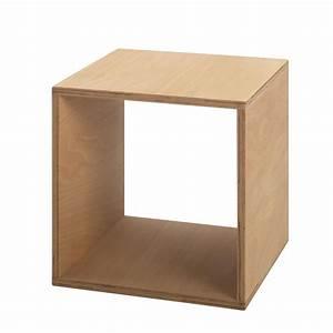 Table De Chevet Cube : tojo cube table de chevet 35x35 cm tojo ~ Teatrodelosmanantiales.com Idées de Décoration