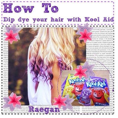 How To Dye Your Hair With Kool Aidhairtruspertip Kool