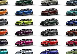 Volkswagen: 40 custom colors available for 2019 Golf R