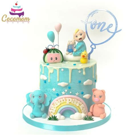 The coco melon theme cakes for your little one's special birthday! Cocomelon cake in 2020   Cake, Cake inspiration, Bday