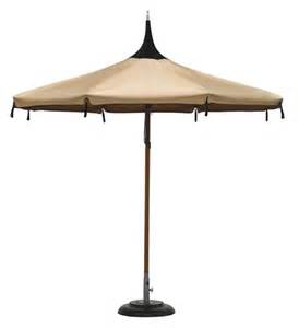 Pagoda Style Patio Umbrella by Patio Umbrellas And Outdoor Parasols Best Picks For 2008