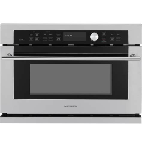 zscjss monogram built  oven  advantium speedcook technology   monogram
